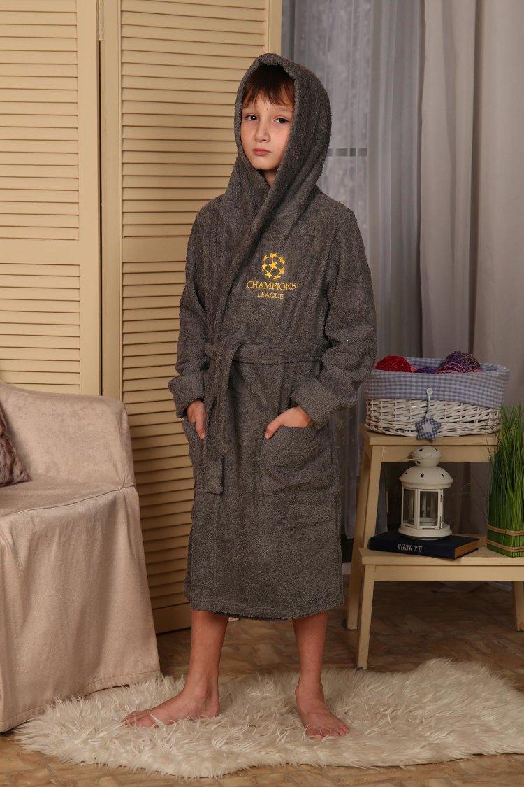 3bb3d7e6b29fa Купить оптом детские махровые халаты от производителя