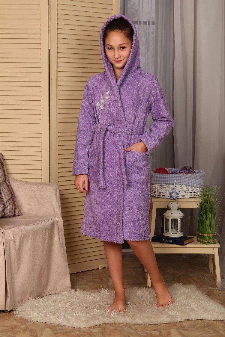 efc23fcec89ab Купить оптом подростковые махровые халаты от производителя